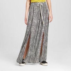 MOSSIMO SUPPLY CO maxi skirt
